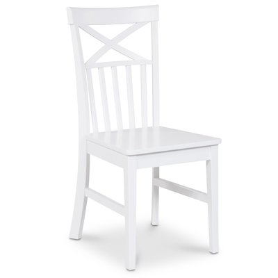 Mellby stol - Hvit