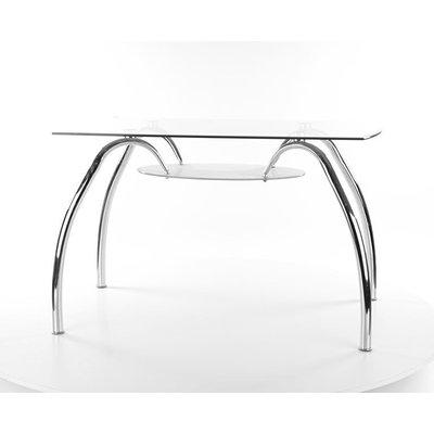 Spisebord Presley 120 cm - Krom