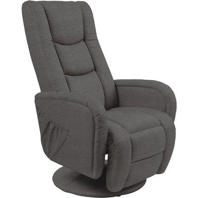 Bibi reclinerlenestol - Mørkegrått stoff