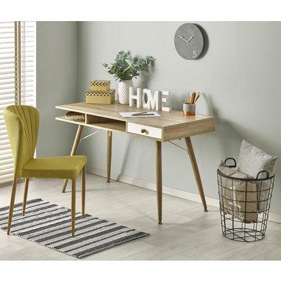 Miriam skrivebord - Hvit/eik