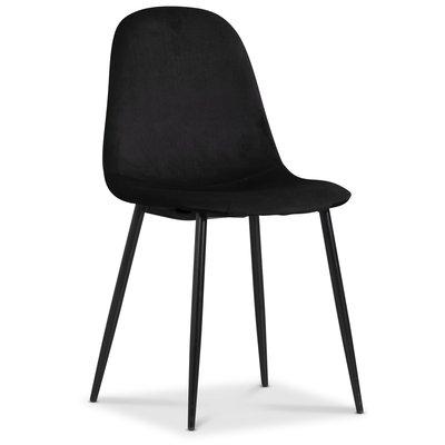 Carisma stol - Svart fløyel