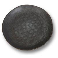 Keramikk tallerkener 4 stk i et sett - Grå
