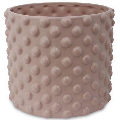 Krukke Boble H16 cm - Rosa