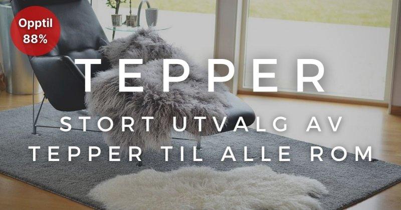 Tepper - Opptil 88%