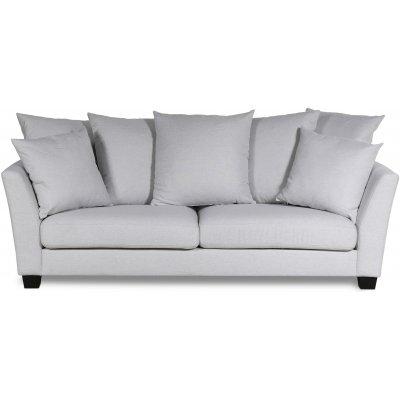 Arild 2,5-seters sofa med konvoluttputer - Offwhite lin