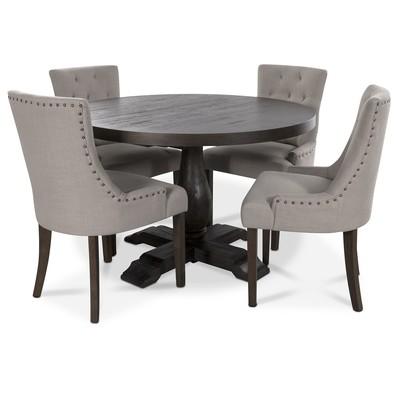 Lamier spisegruppe inkludert 4 stk Tuva stoler i Beige stoff