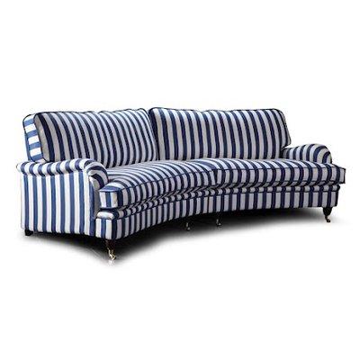 Howard Luxor XXL buet 5-sete sofa 300 cm - Valgfri farge!