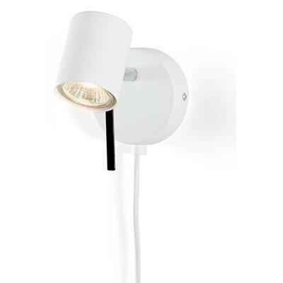 Alpha spotlight Vegglampe - Hvit