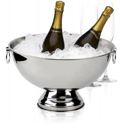 Sontell Champagnekjøleskap - Blank stål