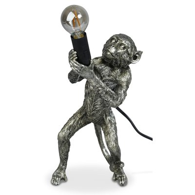 Monkey Bordlampe H40 - Sølv