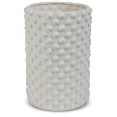 Vase Boble H22 cm - Hvit