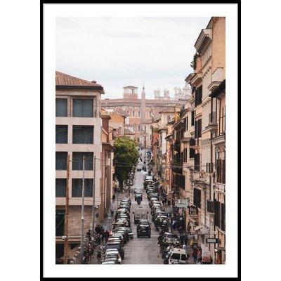 STREETS OF ROME - Plakat 50x70 cm