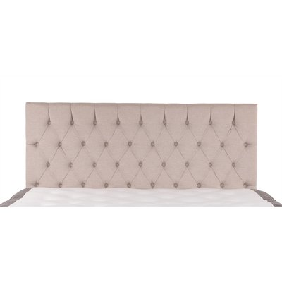 Linne sengegavl vegghengt - 180 cm