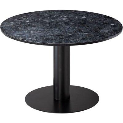 Next 105 rundt spisebord - Svart / Granitt