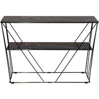 Cube Konsollbord - Glass/svart