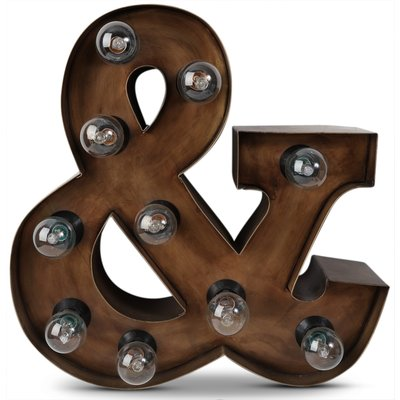Sirkuslampe (&) H40 cm - Rusty