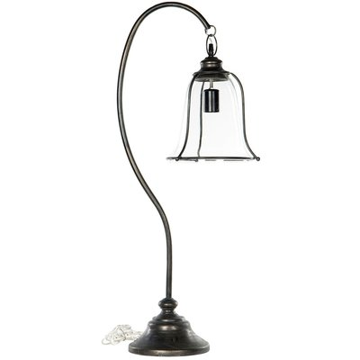 Bordlampe Broke - Antikk metall