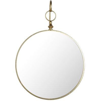 Hengende speil - Antikk messing