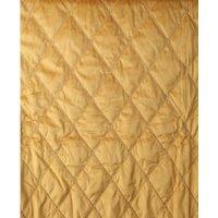 Sengeteppe XL 270x270cm - Gull (fløyel)
