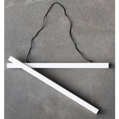Plakathenger (Hvit) - 50x70 cm Plakat