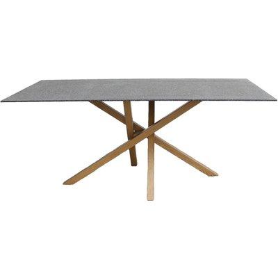 Spisebord Höganäs 180 cm - Eik / Sprayglas