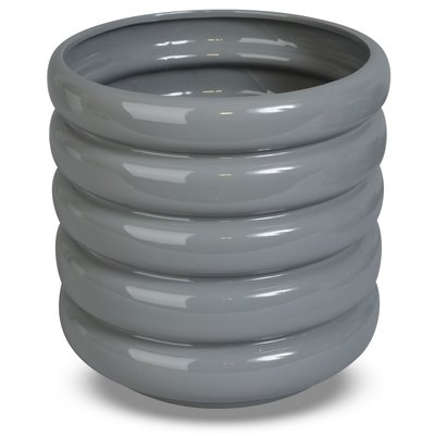 Krukke Wheels H18 cm - Grå