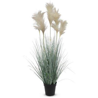 Kunstig plante - Gress/Pampasgress H82 cm