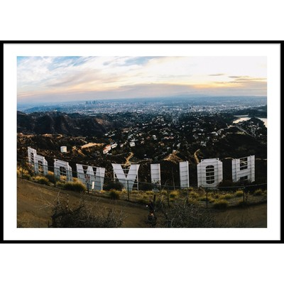 HOLLYWOOD SIGN - Plakat 50x70 cm
