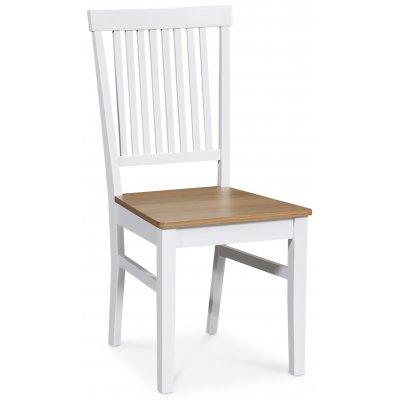 Fårö stol - Hvit/eik