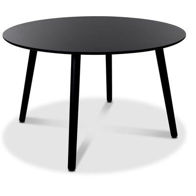 Rosvik spisebord 120 cm - Sort