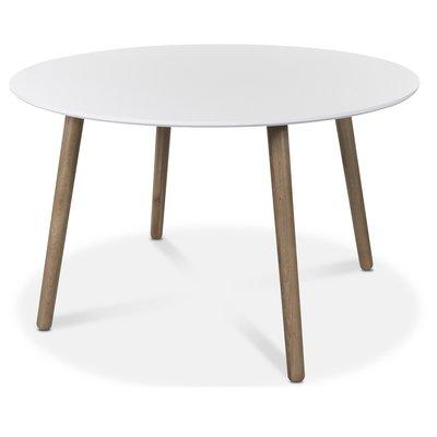 Rosvik spisebord 120 cm - Eik/Hvit