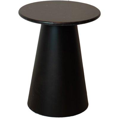 Lance lampebord H48,5 cm - Marmor (svart) / Metall