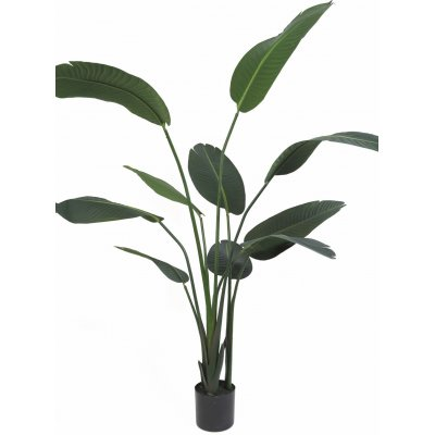 Kunstig plante - Papegøyeblomst H110 cm