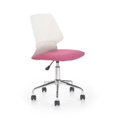 Dannie kontorstol - Hvit/rosa