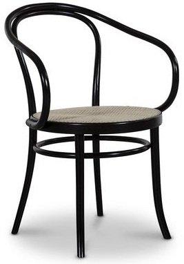 Bøytre karmstol Nr. 30 Klassiker - Svartbeiset/Rotting