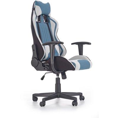 Sabella kontorstol - Blå/hvit