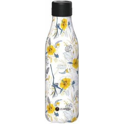 Bottle Up vannflaske - Blomstret mønster
