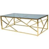 Leavitt sofabord - Gull/svart