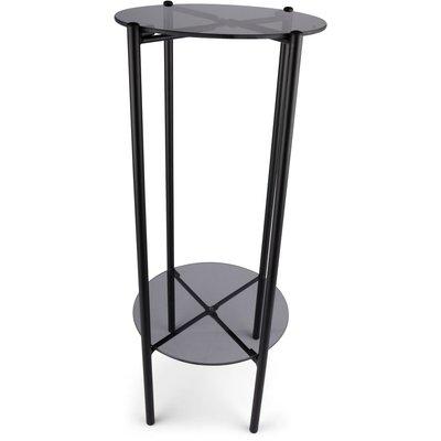 Pidestall Lilly - Røyk/svart