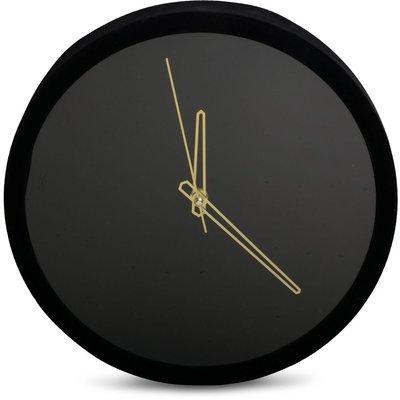 Klokke Moderne - Svart/gull