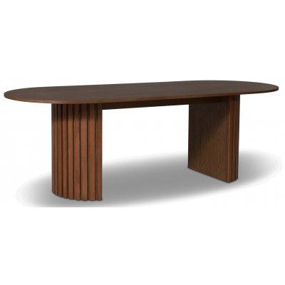 PiPi ovalt spisebord 230 cm - Valnøtt