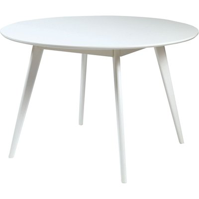 Katie rundt spisebord ø115 cm - Hvit