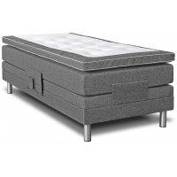 Cloud justerbar seng 7-sone (grå) - Valgfri bredde