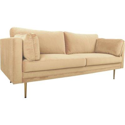Sofa Savanna - Beige Fløyel