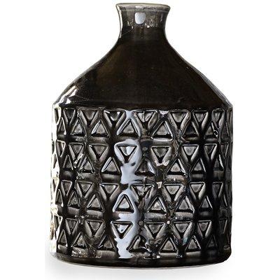 Vase Keramikka PH118220 - Svart
