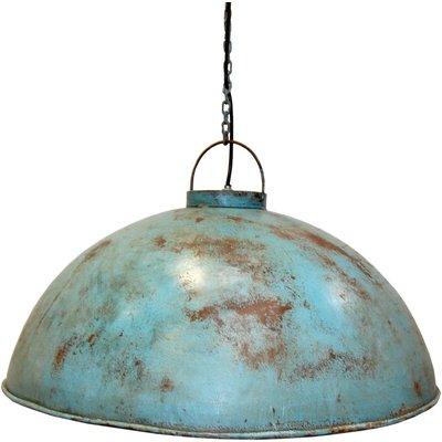Torneträsk taklampe - Industriblå