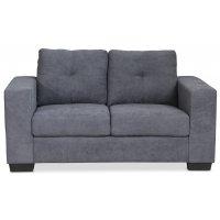 Friday 2-seters sofa - Grå Chenille