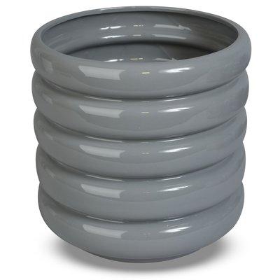 Krukke Wheels H24,5 cm - Grå