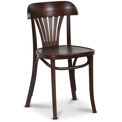Bøyetre stol No 24 klassiker - Valnøtt