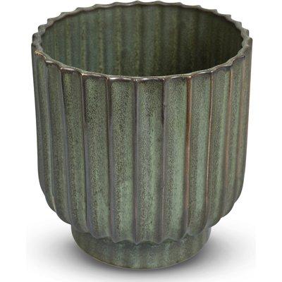 Krukke Dreie H18 cm - Grønn